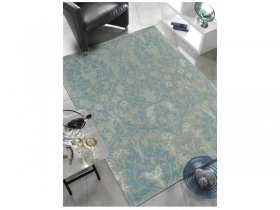 tapis autumn flowers handtufted eggshell - avalnico