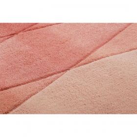 tapis evening shade haux rose et rouge - esprit home