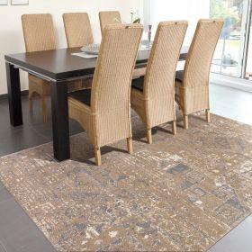 tapis marron orient arte espina