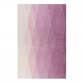 tapis evening shade haux pourpre - esprit home