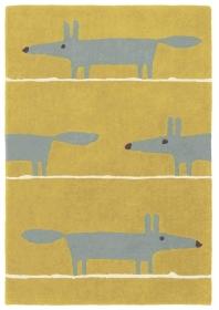 tapis mr fox mustard scion living - avalnico