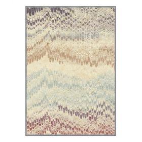 tapis moderne peacok multicolore edito paris