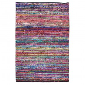 tapis tissé main elmund multicolore the rug republic