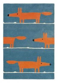 tapis mr fox denim scion living - avalnico