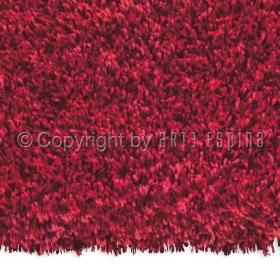 tapis shaggy rouge lulu flair rugs 120x170. Black Bedroom Furniture Sets. Home Design Ideas