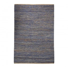 tapis tissé main coastal bleu the rug republic