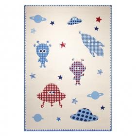tapis little astronauts blanc esprit home