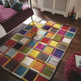 Tapis multicolore for Fenetre 80x150