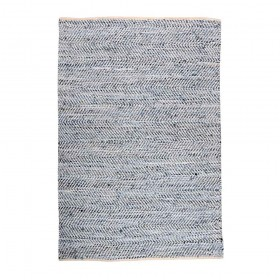 tapis tissé main atlas bleu the rug republic