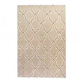 tapis tufté main bernard beige the rug republic