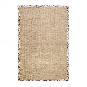 tapis tissé main the rug republic brazilia beige