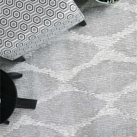 tapis tufté main elba gris the rug republic