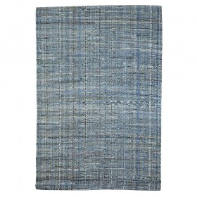 tapis tissé main harris bleu the rug republic