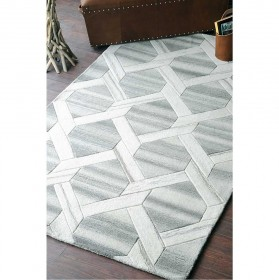 tapis tufté main helix natural the rug republic