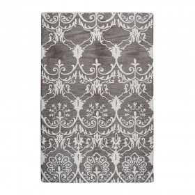 tapis tufté main masonic taupe the rug republic