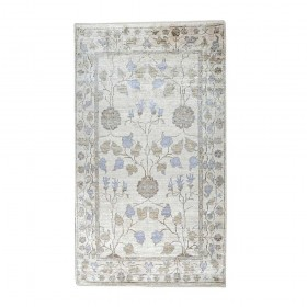 tapis noué main morris beige the rug republic