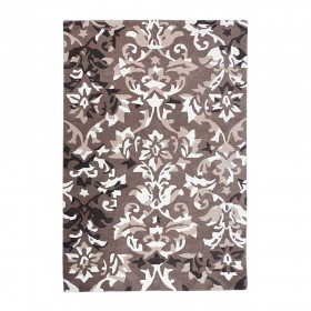 tapis tufté main overbrook taupe the rug republic