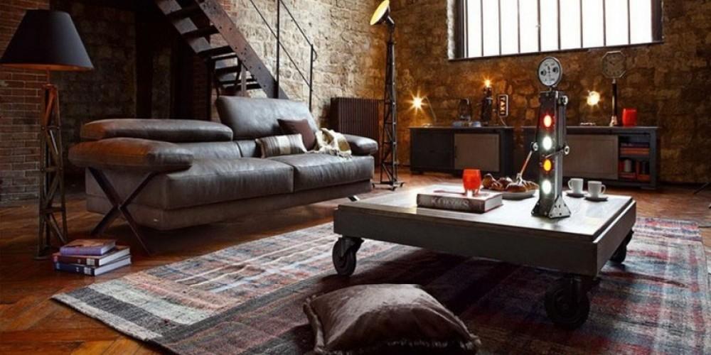Quel tapis choisir pour un style d co urbain for Tapis salon xxl