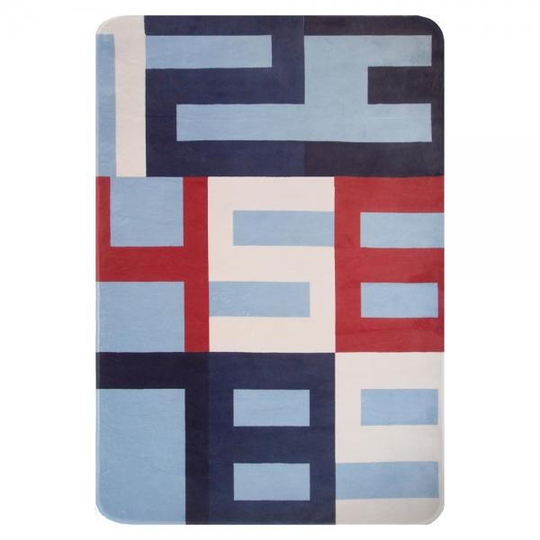 tapis enfant chiffres bleu art for kids 70x100. Black Bedroom Furniture Sets. Home Design Ideas