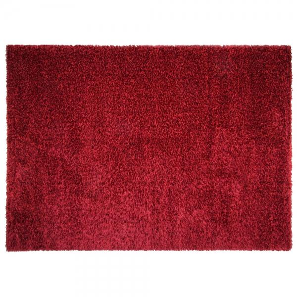 tapis shaggy rouge. Black Bedroom Furniture Sets. Home Design Ideas