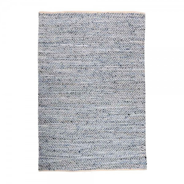 tapis tissé main atlas bleu the rug republic