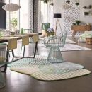 Tapis Moderne Jungle Graphic Vert - Wecon