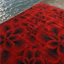 Tapis FLOWER Rouge Carving