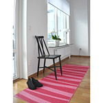 Tapis de couloir ARE zébré rose SOFIE SJOSTROM DESIGN
