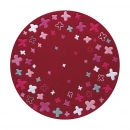 Tapis BLOOM FIELD rouge Esprit Home