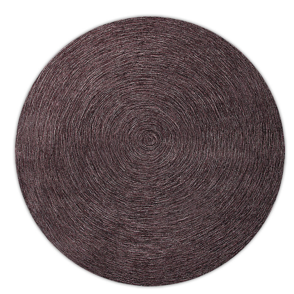 tapis esprit home moderne rond colour in motion marron 250x250. Black Bedroom Furniture Sets. Home Design Ideas