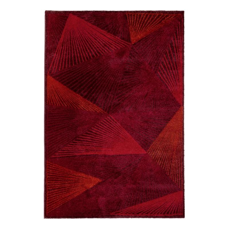 Tapis polykrom rouge edito paris 160x230 for Tapis salon xxl