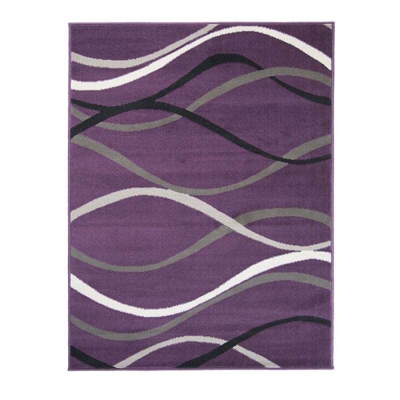 Tapis Moderne Violet Curve Flair Rugs 120x160