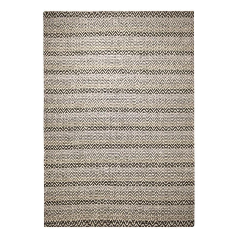 tapis moderne massoni gris 60x110. Black Bedroom Furniture Sets. Home Design Ideas