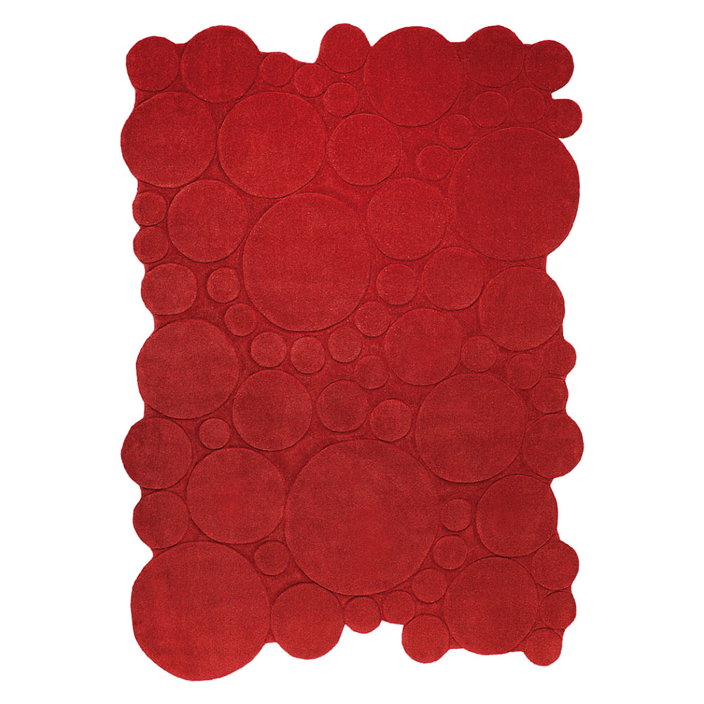 tapis contemporain forme originale rouge angelo disponible 349 pictures to pin on pinterest. Black Bedroom Furniture Sets. Home Design Ideas