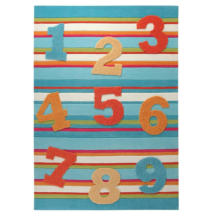 tapis enfant 123 multicolore esprit home. Black Bedroom Furniture Sets. Home Design Ideas