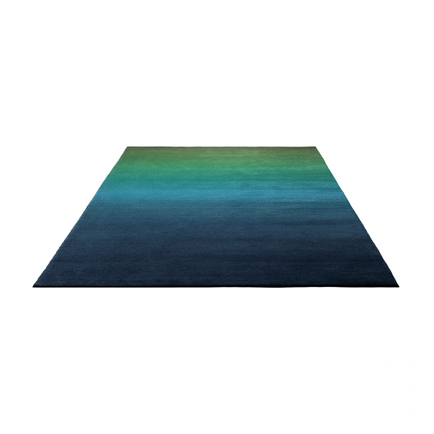 tapis moderne vert et bleu summer fun esprit home 200x300. Black Bedroom Furniture Sets. Home Design Ideas