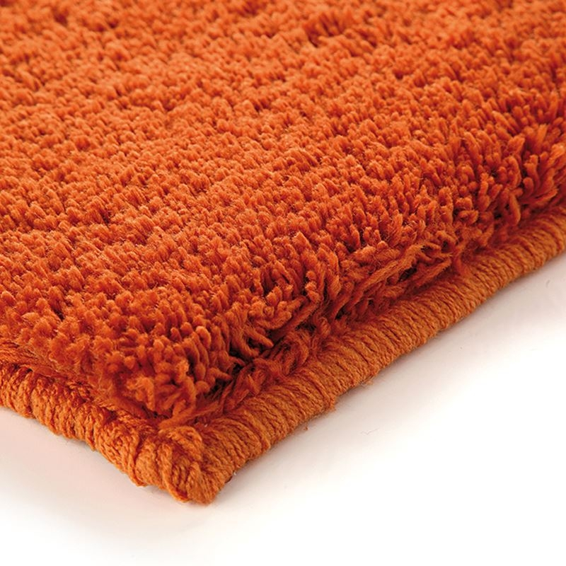 tapis shaggy corn carpet orange esprit home 70x140. Black Bedroom Furniture Sets. Home Design Ideas