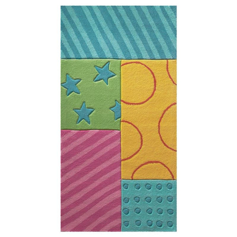tapis c patchwork garden esprit home 70 x 140 cm. Black Bedroom Furniture Sets. Home Design Ideas