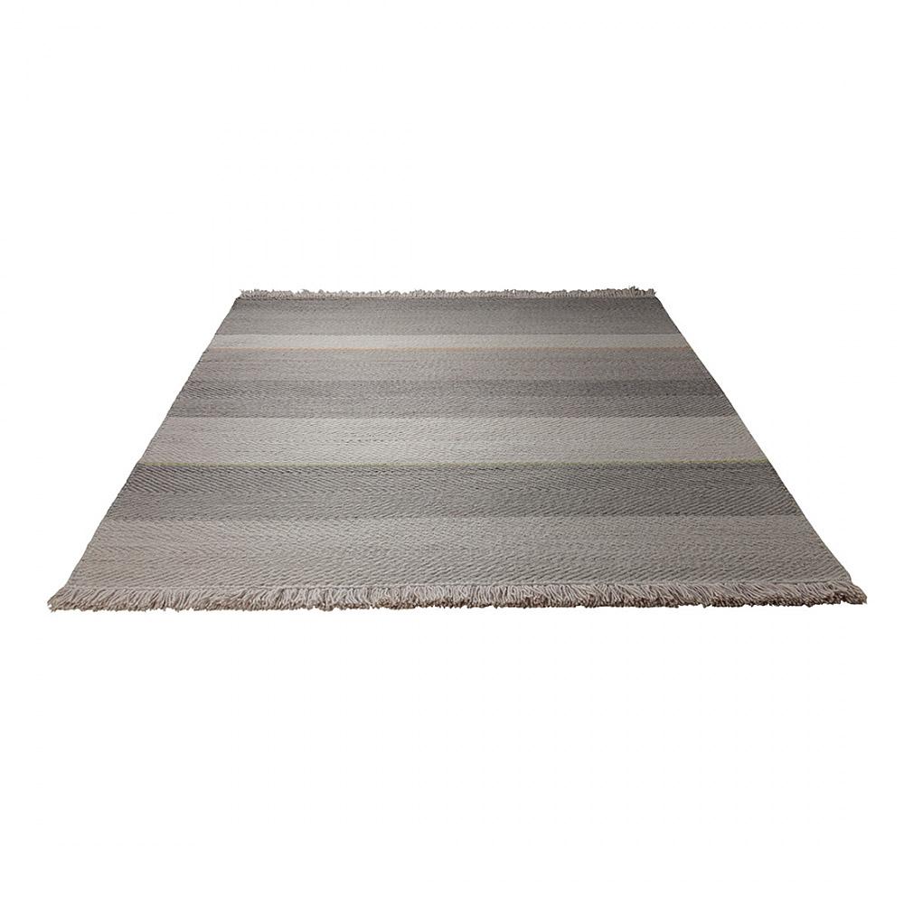 Tapis de couloir heringbone esprit home taupe et marron 80x250 for Saint maclou tapis de couloir