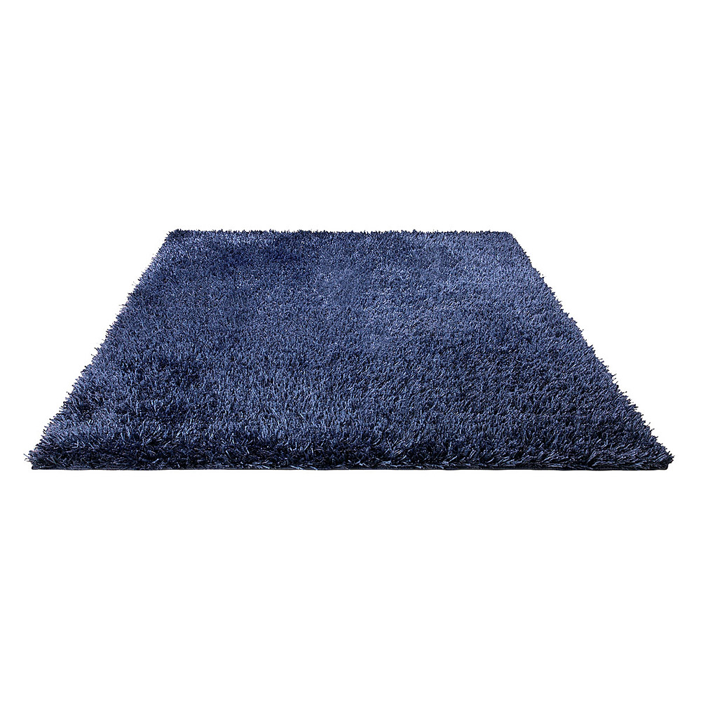 tapis shaggy esprit home cool glamour bleu 170x240. Black Bedroom Furniture Sets. Home Design Ideas