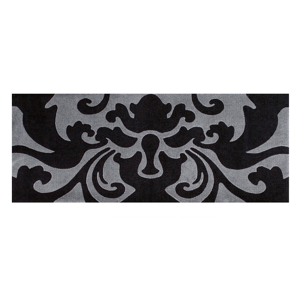tapis de couloir style noir et gris arte espina 64x168. Black Bedroom Furniture Sets. Home Design Ideas