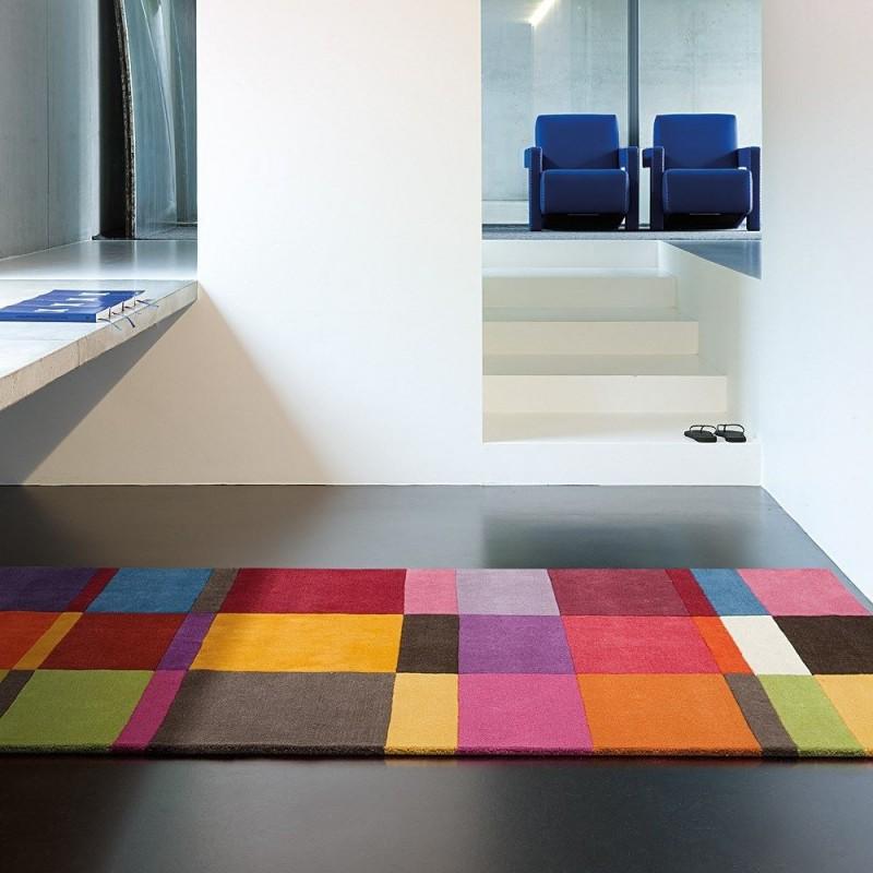 tapis laine tuft main love ligne pure mutlicolore g om trique 250x350. Black Bedroom Furniture Sets. Home Design Ideas