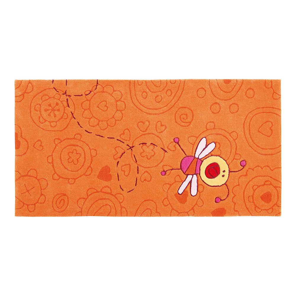 tapis enfant happy zoo summ summ orange sigikid. Black Bedroom Furniture Sets. Home Design Ideas