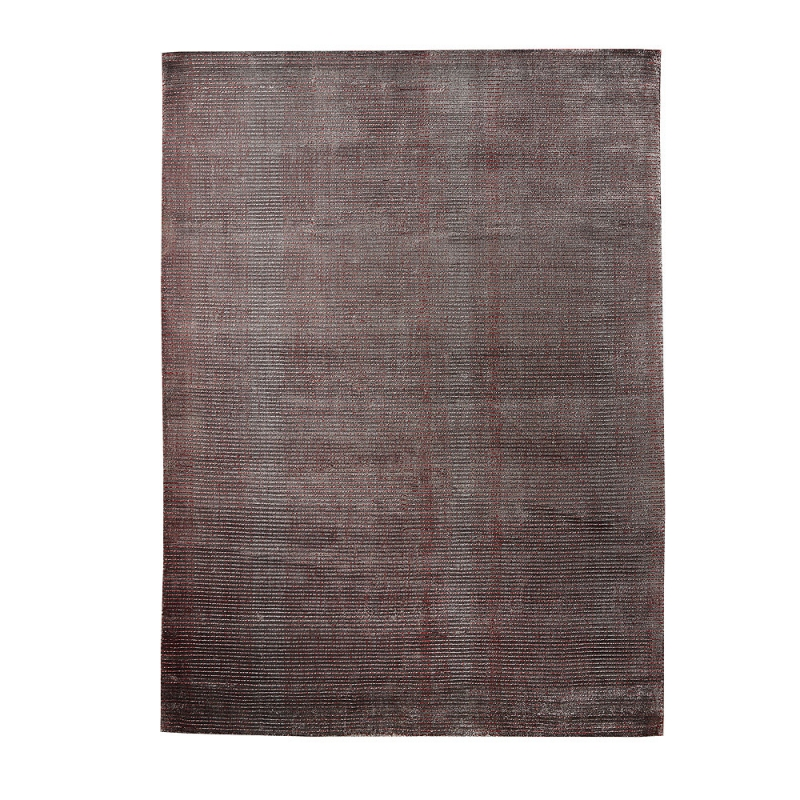 tapis tiss main home spirit mirage rouge et gris 200x300. Black Bedroom Furniture Sets. Home Design Ideas