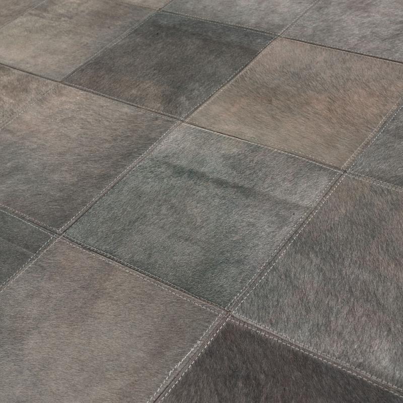 tapis starless en cuir gris angelo 140x200. Black Bedroom Furniture Sets. Home Design Ideas
