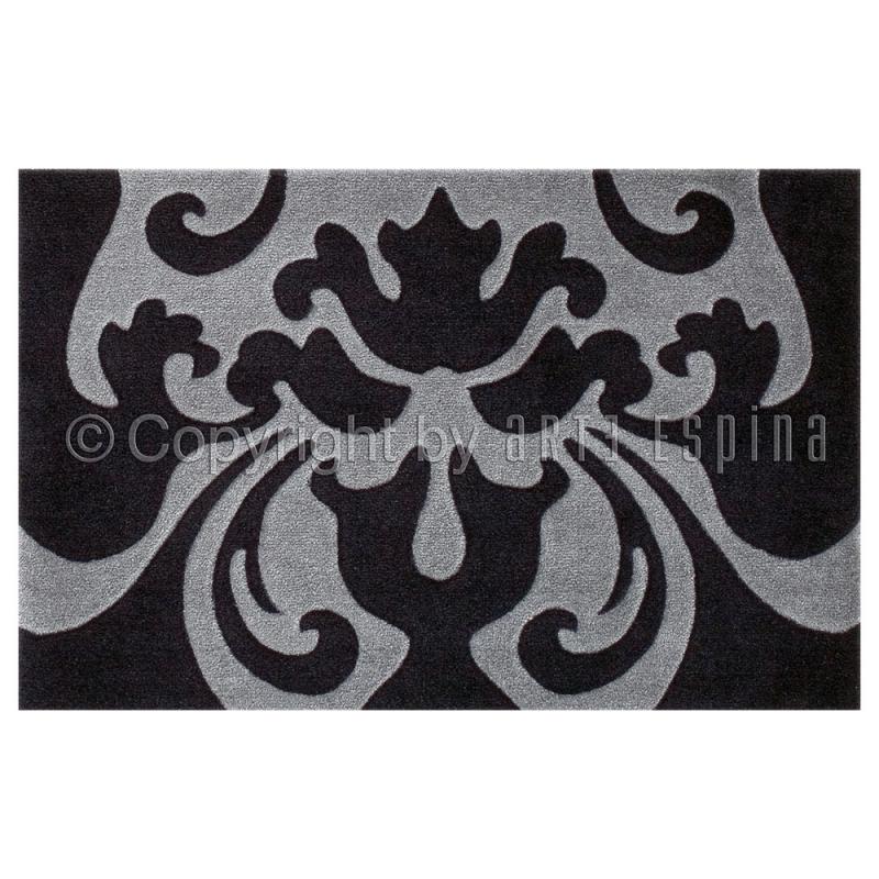tapis antid rapant style noir et gris arte espina 64x97. Black Bedroom Furniture Sets. Home Design Ideas