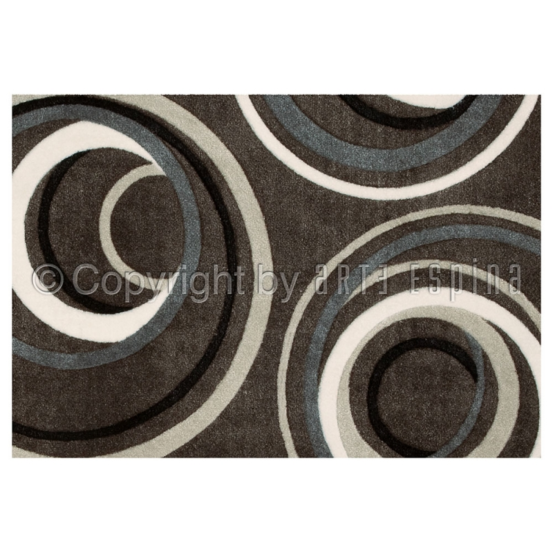 tapis urban marron arte espina 64x97. Black Bedroom Furniture Sets. Home Design Ideas
