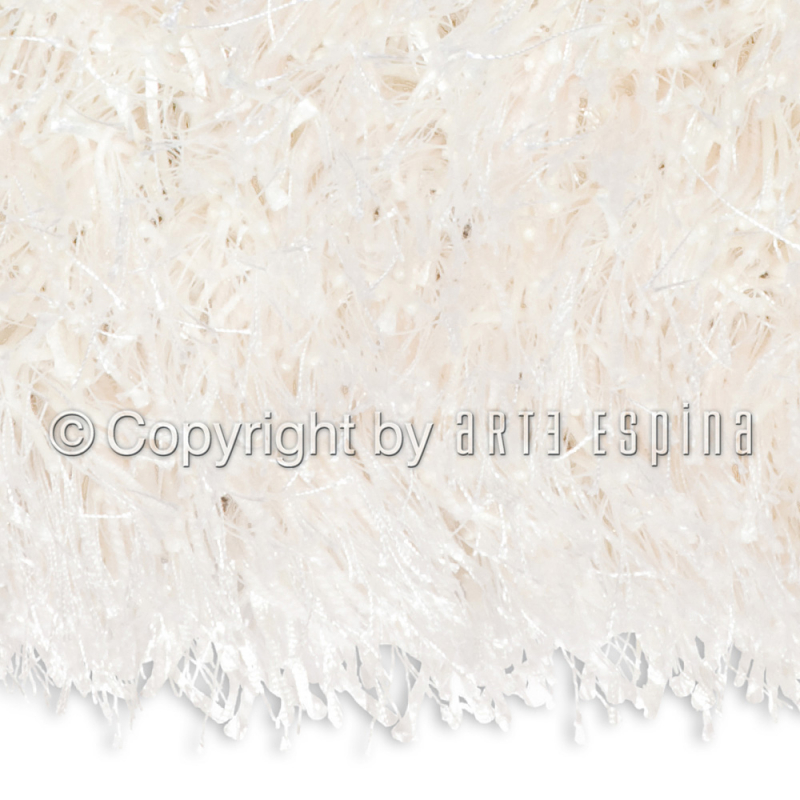 tapis shaggy blanc beat arte espina 170x240. Black Bedroom Furniture Sets. Home Design Ideas