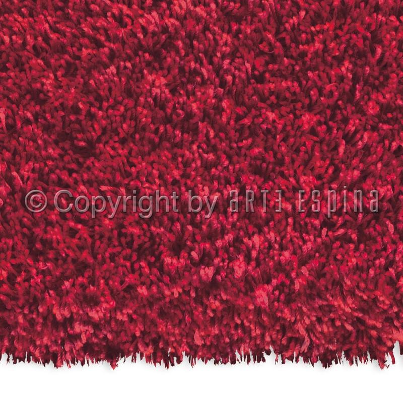 tapis shaggy soul rouge arte espina 70x140. Black Bedroom Furniture Sets. Home Design Ideas