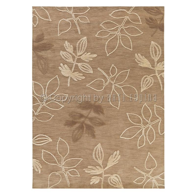 tapis floral floriade beige arte espina. Black Bedroom Furniture Sets. Home Design Ideas